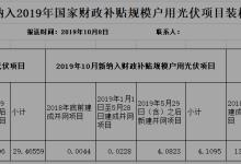 浙江新增纳入国补户用光伏项目41MW