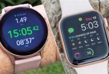Apple Watch Series 5 对比 Galaxy WatchActive 2评测