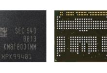 三星量产首款12GB LPDDR4X uMCP芯片