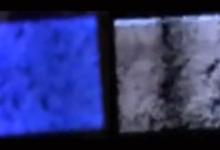 将蓝色OLED灯变成罕见的白光的滤镜