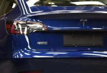 国产特斯拉Model 3公开亮相 明年一季度大批量交付