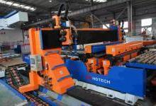 首套出口印度的大型激光切焊一体机验收