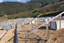 格瑞士韩国3.4MW地面支架工程
