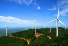 国投48兆瓦风电项目首台风机并网发电