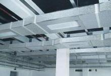 空调通风管道中的温湿度传感器