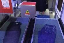 激光技术在牛仔裤洗水工艺中的应用