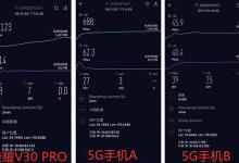 荣耀首款5G手机 V30 PRO下载实测