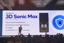 高通发布全新指纹识别技术3D Sonic Max