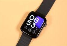 小米手表首次系统更新