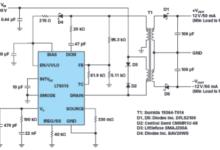 采用单个IC从30 V至400 V输入产生隔离或非隔离±12 V输出