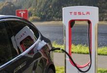特斯拉超级充电桩:充电5分钟续航破百公里