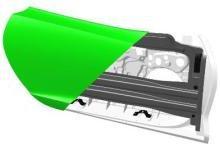 比钢制车门轻35% 帝人推超轻多材料复合汽车侧门模块