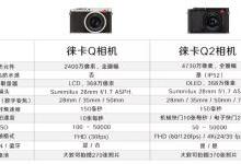 徕卡发布全画幅Q2相机 搭载4730万传感器