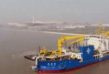 """中国新一代""""造岛神器""""投产 价值比肩航母"""