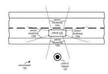 """苹果申请""""嵌入式传感器""""专利 助力自动驾驶"""