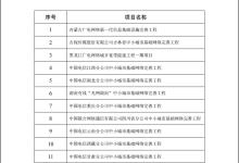 新一代信息基础设施建设工程拟支持项目名单