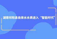 """湖南祁阳县自来水水表进入""""智能时代"""""""