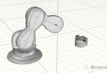 DIY机械手臂:设计实心底座