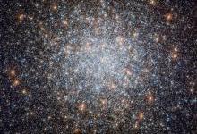 哈勃望远镜排到最美画面:包含50万颗恒星