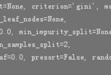 Python数据科学:决策树