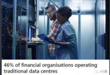 近半数金融机构还在用传统数据中心