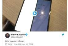 2000美元的Galaxy Fold手机,两天就坏了