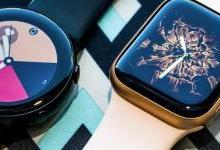 智能手表哪家强?苹果还是三星哥?