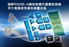 瑞萨电子推出领先业界的微控制器