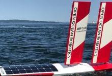 可再生動力無人船正在保護海洋環境