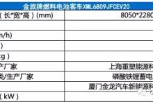 322批申报公示:14个型号燃料电池产品申报