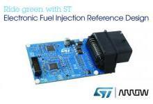 意法半导体联合艾睿电子发布电子燃油喷射方案