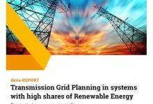 高比例可再生能源系统中的电网规划