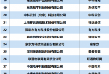2019物联网百强榜单出炉