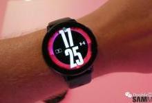 Galaxy Watch Active 2将在2020年第一季度获得ECG和跌倒检测