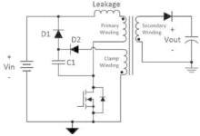 如何用非耗散钳位电路提高反激式电源的效率