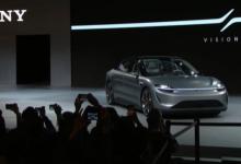 索尼首款纯电动车惊艳亮相2020CES