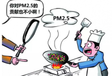 厨房油烟中的PM2.5