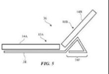 苹果申请折叠手机专利