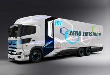 重達25噸 續航600公里!豐田/日野共同開發重型氫燃料卡車