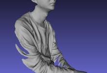 手持式3D掃描儀應用二  案例篇  人體掃描