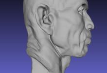 知象光电手持式3D扫描仪应用展示之户外应用