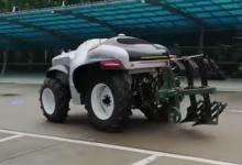 中國首臺5G+氫燃料無人駕駛拖拉機發布