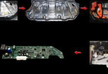 不容错过,MODEL 3 BMS控制器实物基本情况