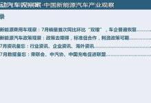 中国新能源汽车产业观察+中国动力电池产业观察