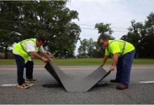 ABH Enterprises研发修公路用创可贴,这些材料原来是关键!