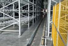 雷柏机器人提供锂电工厂智能仓储方案