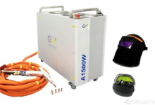 GW推出国内首款千瓦级风冷激光智能焊机