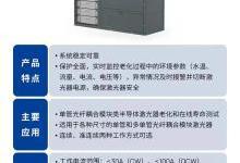 炬光科技发布半导体激光器老化寿命测试分析设备